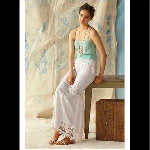 Yoana Baraschi/Anthropologie Lace Maxi Skirt Sz MP